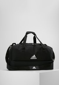 adidas Performance - TIRO DU - Sports bag - black/white - 0