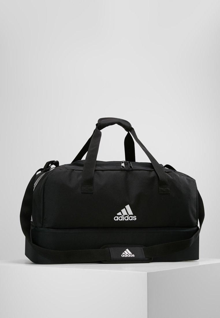 adidas Performance - TIRO DU - Sports bag - black/white