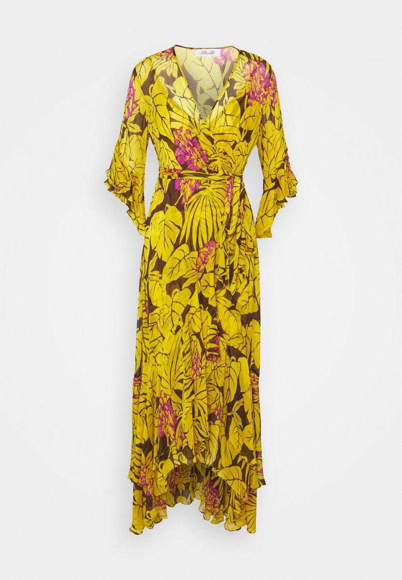 Diane von Furstenberg - JEAN - Maksimekko - yellow