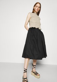 ARKET - SKIRT - A-line skirt - black - 3