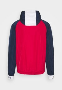 Lacoste Sport - TRACK JACKET - Träningsjacka - navy blue/ruby/white/navy blue - 7