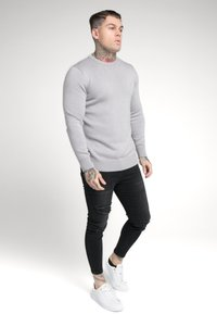 SIKSILK - CREW - Jumper - light grey - 1