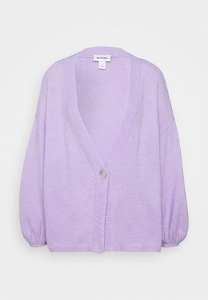 NALA CARDIGAN - Strikjakke /Cardigans - lilac/purple light