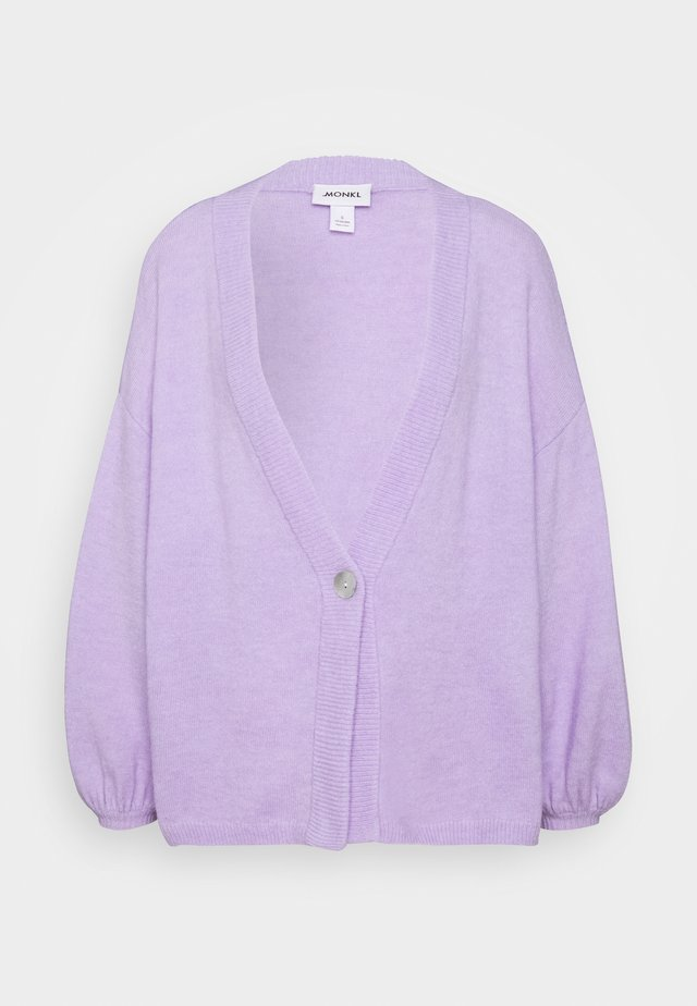 NALA CARDIGAN - Cardigan - lilac/purple light
