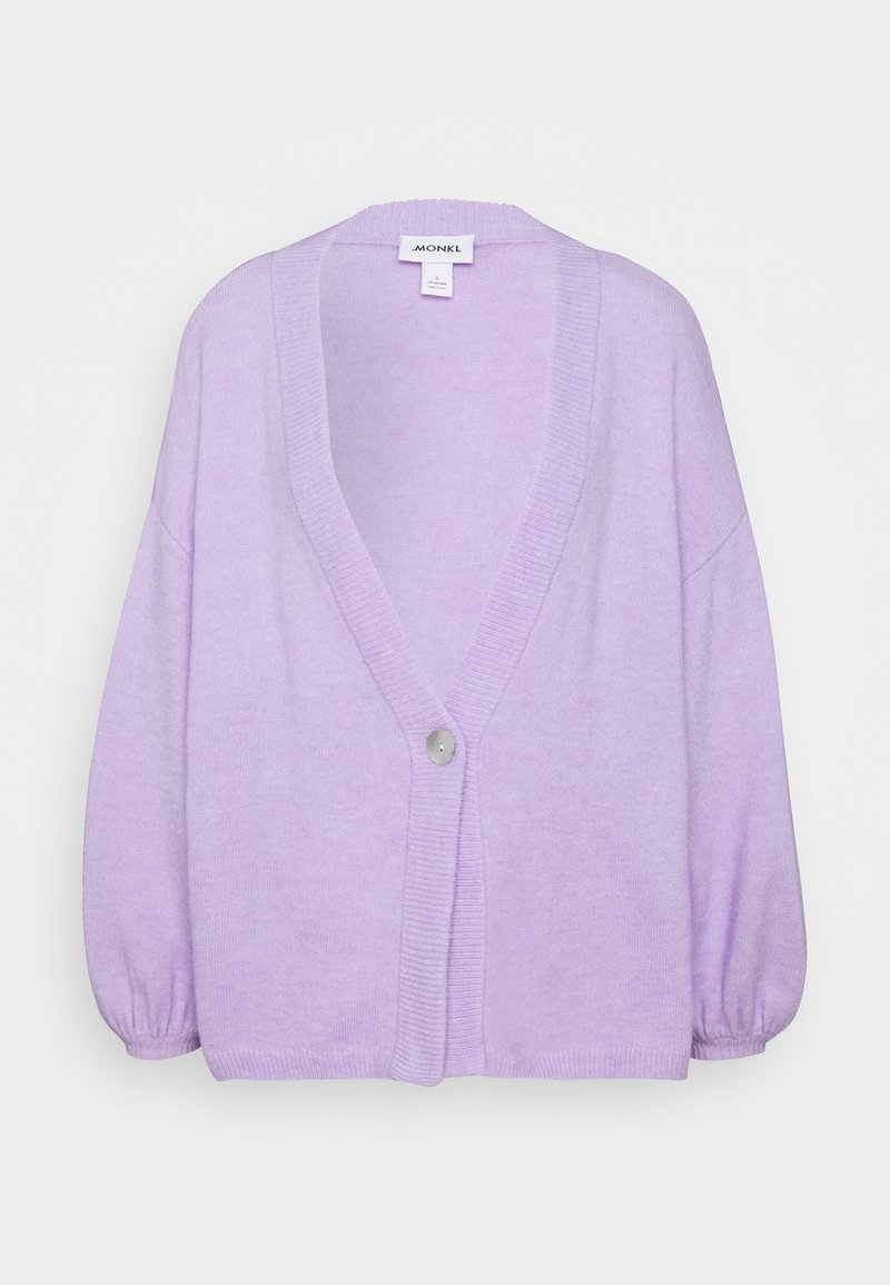 Monki - NALA CARDIGAN - Strickjacke - lilac/purple light