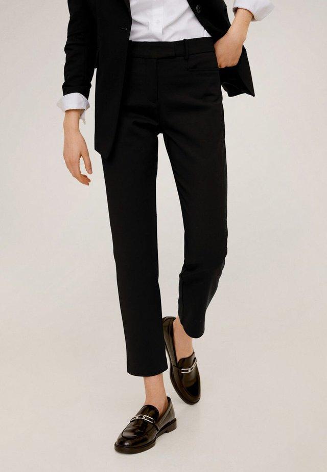 ALBERTO - Spodnie materiałowe - black