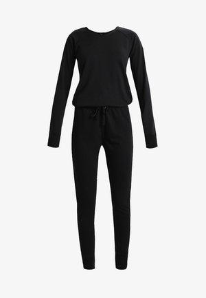 CREW NECK - Jumpsuit - black