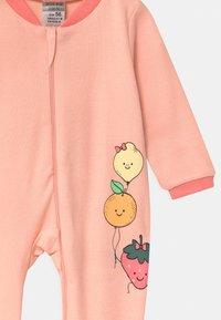Jacky Baby - GIRLS 2 PACK - Dupačky na spaní - light pink/white - 3