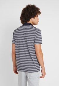Lacoste Sport - STRIPE - Poloshirt - navy blue/white - 2