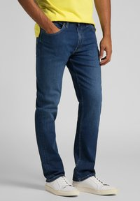 Lee - BROOKLYN - Jeans straight leg - mid worn in ray - 0