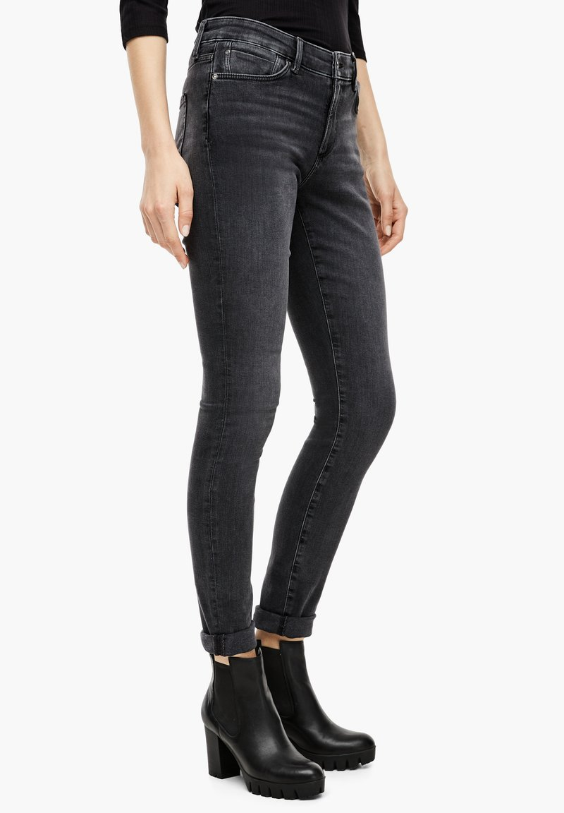 s.Oliver - Jeans Skinny Fit - grey sretc