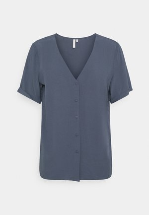 PCCECILIE JERSEY SHORT SLEEVES - Blouse - ombre blue