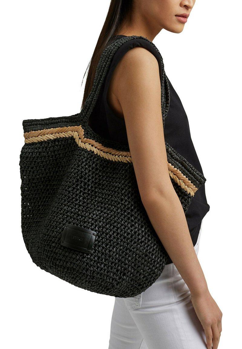 Esprit - RILEY  - Tote bag - black