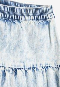 Next - ACID WASH - A-lijn rok - blue denim - 3