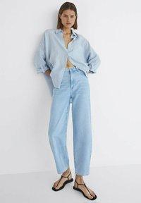 Massimo Dutti - Jeansy Straight Leg - blue - 0