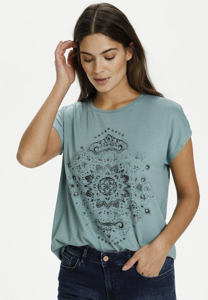 Kaffe - Camiseta estampada - trellis