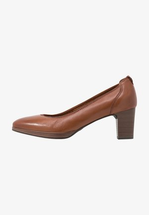 COURT SHOE - Decolleté - cognac