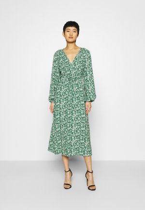 ELIZA DRESS - Day dress - green print