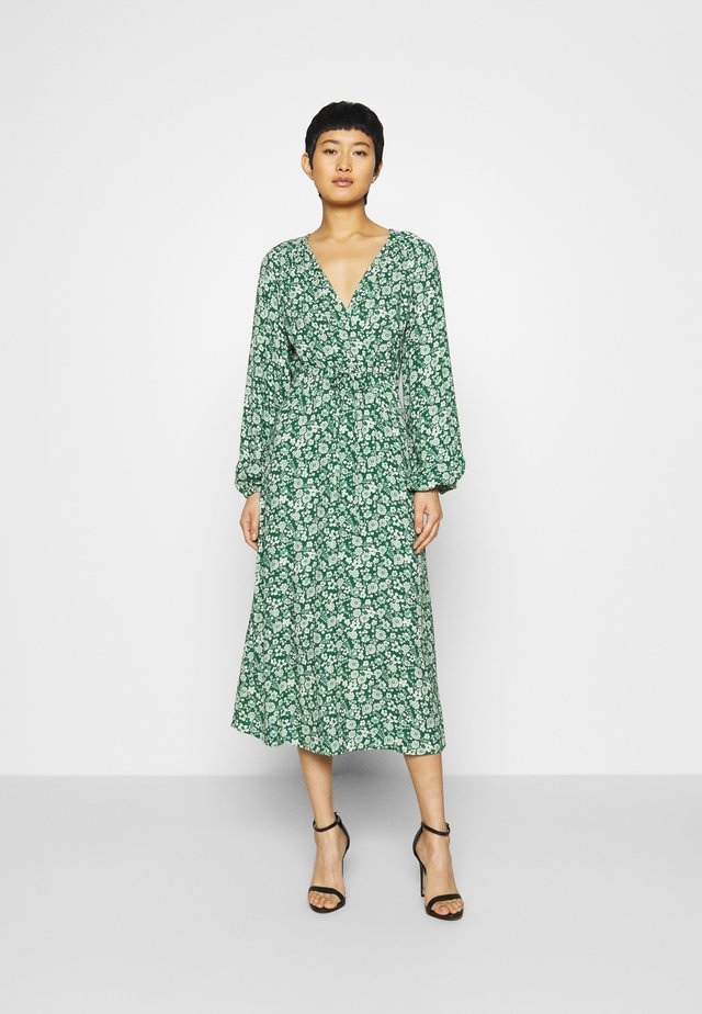 ELIZA DRESS - Korte jurk - green print