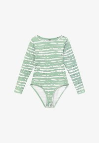 South Beach - GIRLS PRINTED BALLET LEOTARD - Leotard - sage green