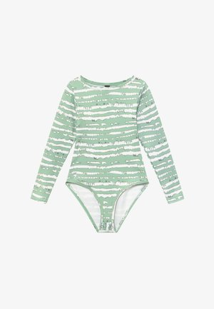 GIRLS PRINTED BALLET LEOTARD - Leotard - sage green