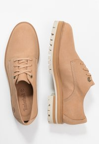 Timberland - LONDON SQUARE OXFORD - Chaussures à lacets - light brown - 3