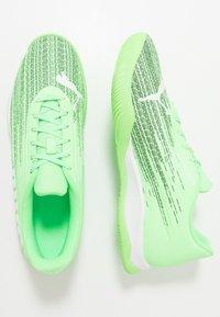 Puma - ADRENALITE 4.1 - Obuwie do piłki ręcznej - elektro green/white/black - 1