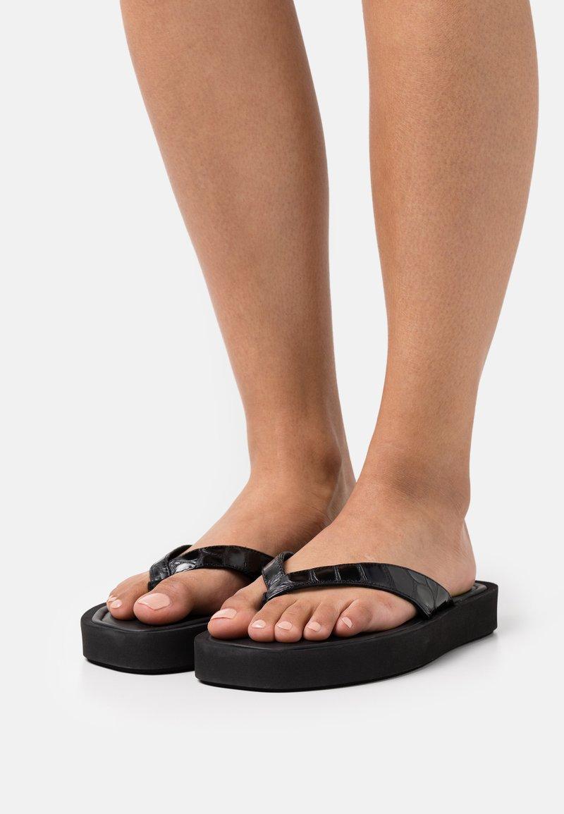 By Malene Birger - KIOMO - T-bar sandals - black