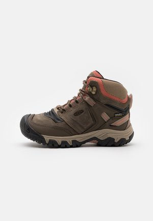 RIDGE FLEX MID WP - Outdoorschoenen - timberwolf/brick dust
