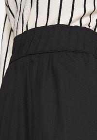 Monki - KINO SKIRT - Maxi sukně - black - 5