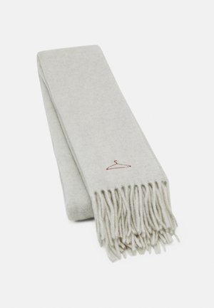 DIPPER SOLID UNISEX - Scarf - light grey
