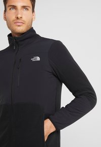 The North Face - GLACIER PRO FULL ZIP - Fleece jacket - black - 3