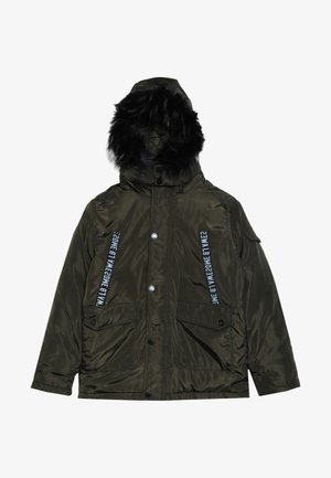 TEEN BOYS JACKET - Abrigo de invierno - olive night