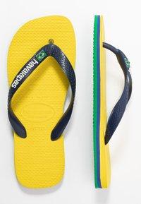 Havaianas - BRASIL LAYERS - Pool shoes - citrus yellow - 1