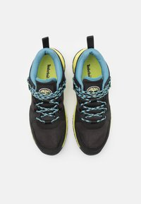 Timberland - SOLAR WAVE - Baskets basses - black/lime - 3
