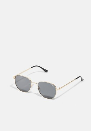 BIG TIME - Sunglasses - gold-coloured/smoke