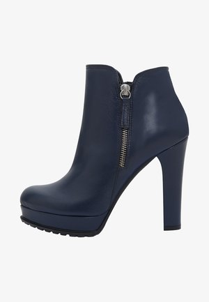 ZOE - High heeled ankle boots - blue