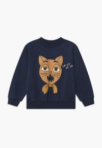 Mini Rodini - BABY CAT CHOIR UNISEX - Mikina - navy - 0