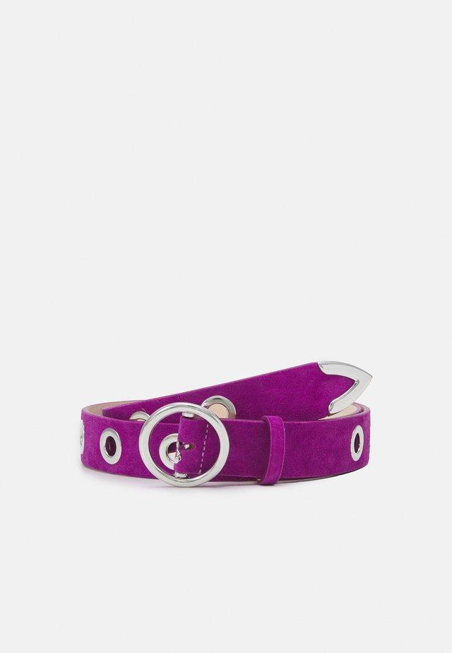 BECKA - Tailleriem - magenta purple