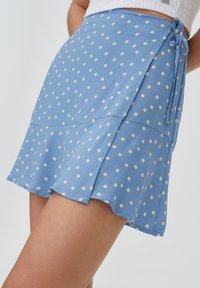 PULL&BEAR - A-line skirt - dark grey - 5