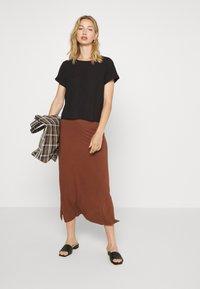 Even&Odd - A-line skirt - tiramisu - 1