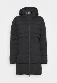 HOODED JACKET LEGACY - Zimní kabát - black