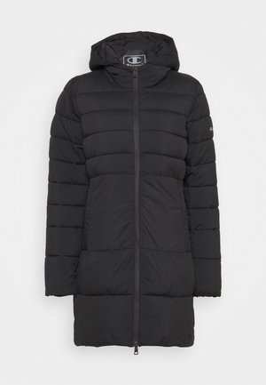 HOODED JACKET LEGACY - Abrigo de invierno - black