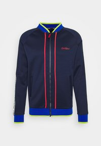 Carlo Colucci - SIDE TAPE - Bomber Jacket - blue - 0