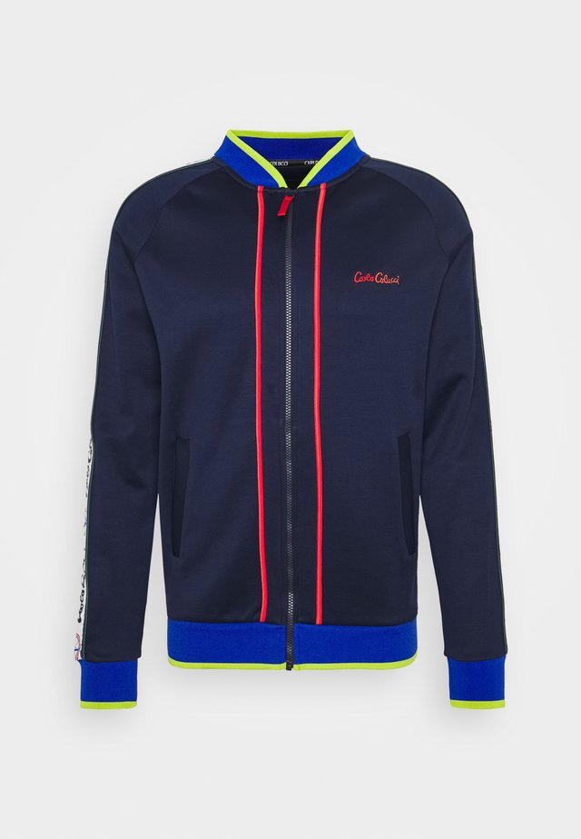 SIDE TAPE - Chaquetas bomber - blue