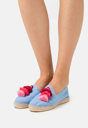 POMPOM - Espadrilles - light blue/grey