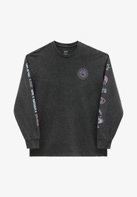 Vans - WM FADED DAZE OVERSIZED LS - Sweatshirt - black - 0