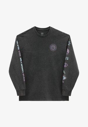 WM FADED DAZE OVERSIZED LS - Sweatshirt - black