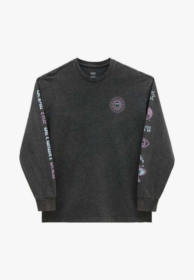 WM FADED DAZE OVERSIZED LS - Sweater - black