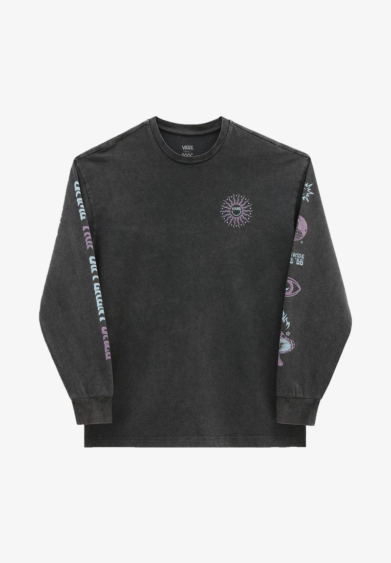 Vans - WM FADED DAZE OVERSIZED LS - Sweatshirt - black